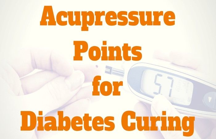 Acupressure Points For Diabetes Curing Acupressure Points Acupressure Reflexology Points
