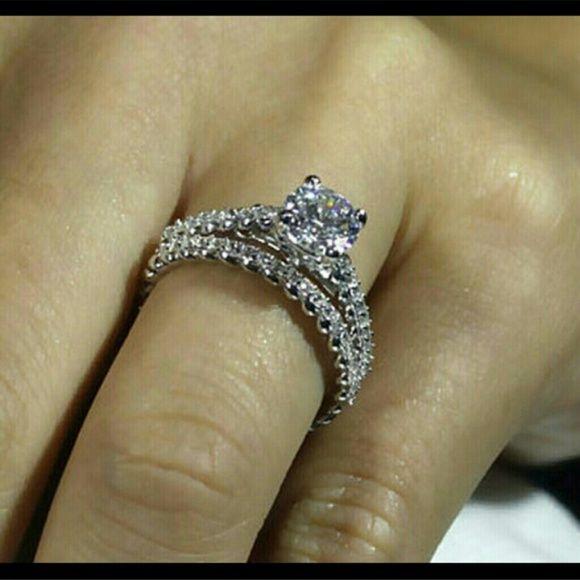 1 5 Ctw Wedding Set Zopius Lab Created Diamond Rin Size 6 Instock Now Diamonds