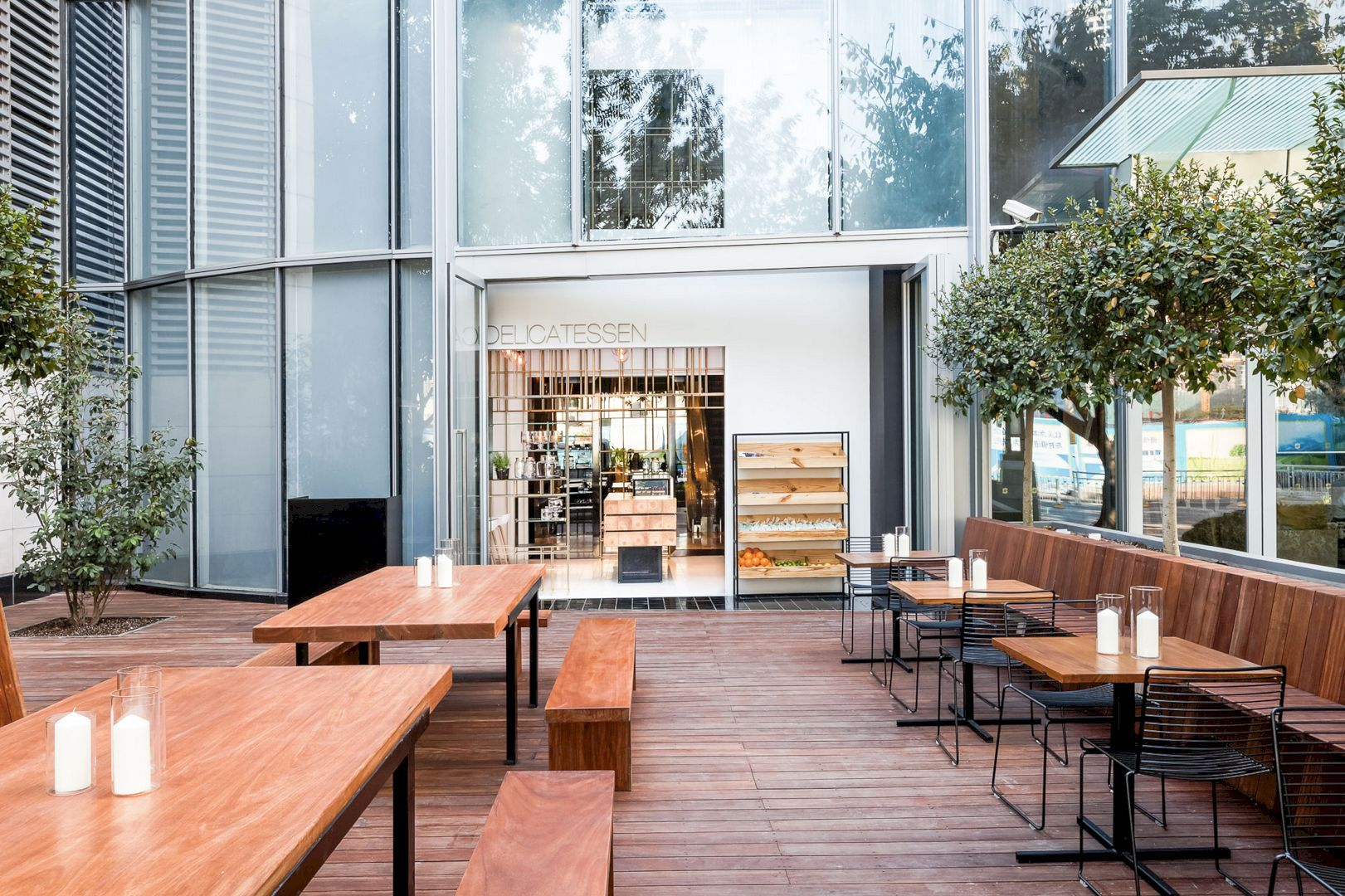 Deli, Shangri-La Futian: A Delicatessen in Shenzhen, China | Shangri on house inside a china, homes in china, small apartment designs in china,
