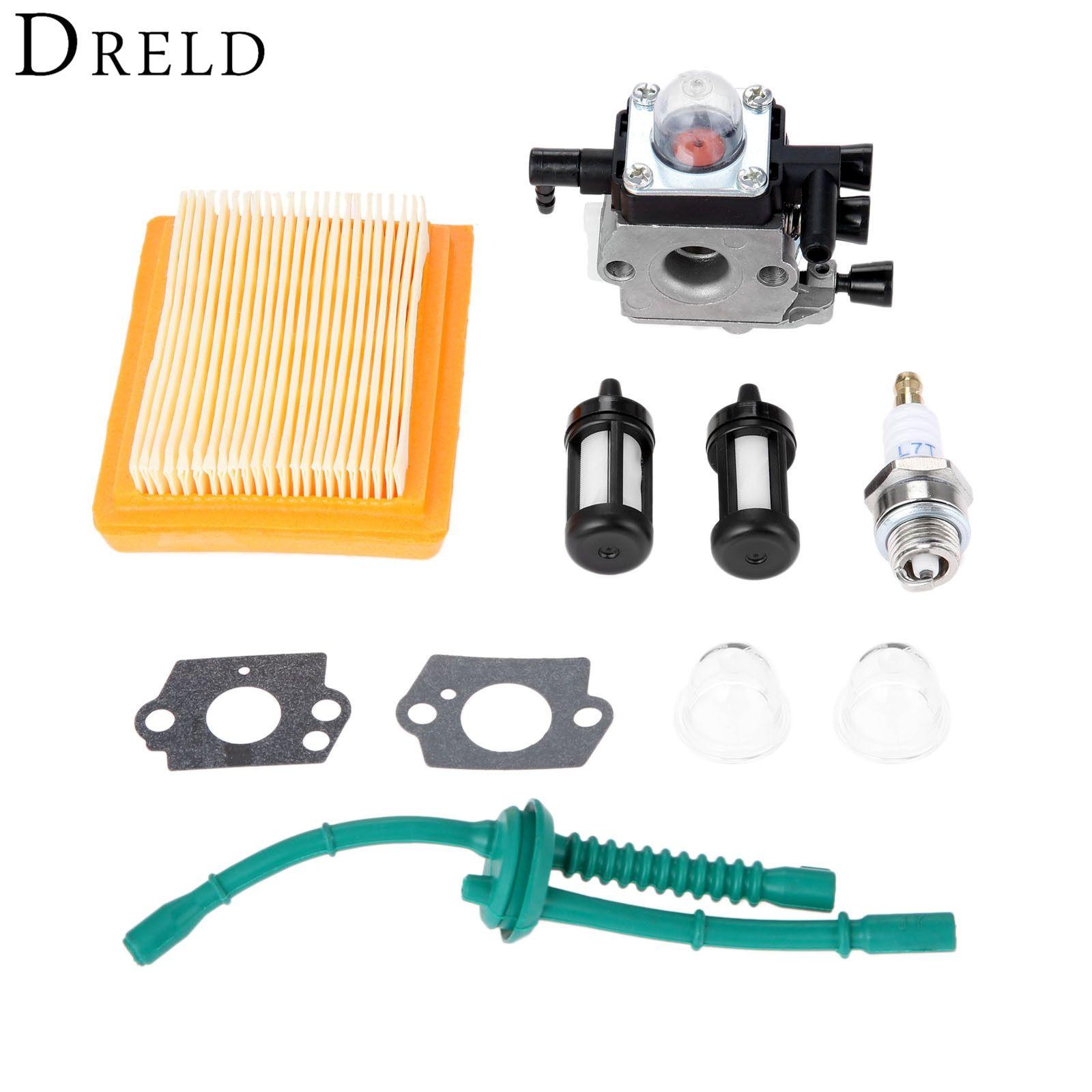 Dreld Carburetor With Gaskets Spark Plug Air Fuel Filter For Stihl