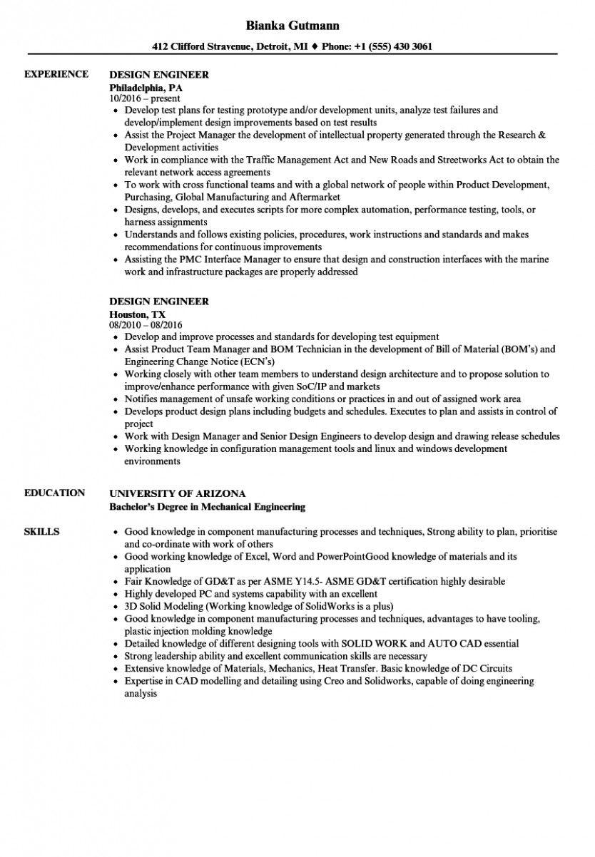 12 Vlsi Design Engineer Resume
