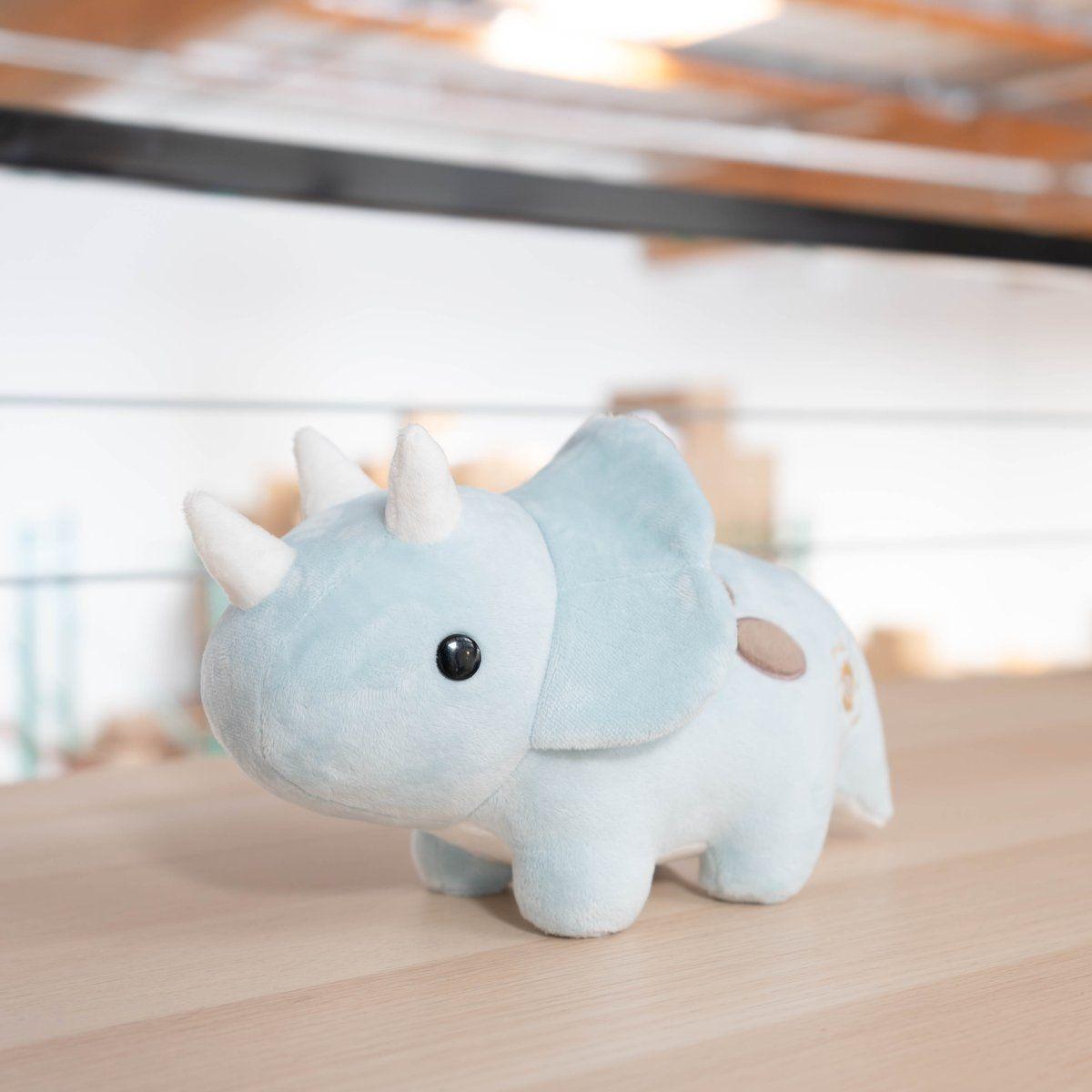 Seri The Triceratops Cute Stuffed Animals Cute Toys Cute Pillows [ 1200 x 1200 Pixel ]