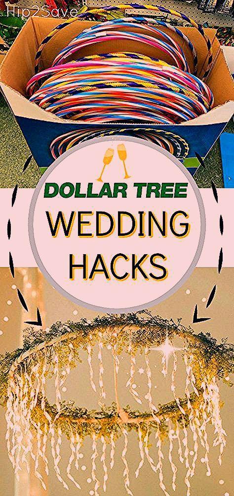 Photo of 5 BRILLIANT Wedding Day Hacks mit Dollar Tree Items – Hip2Save