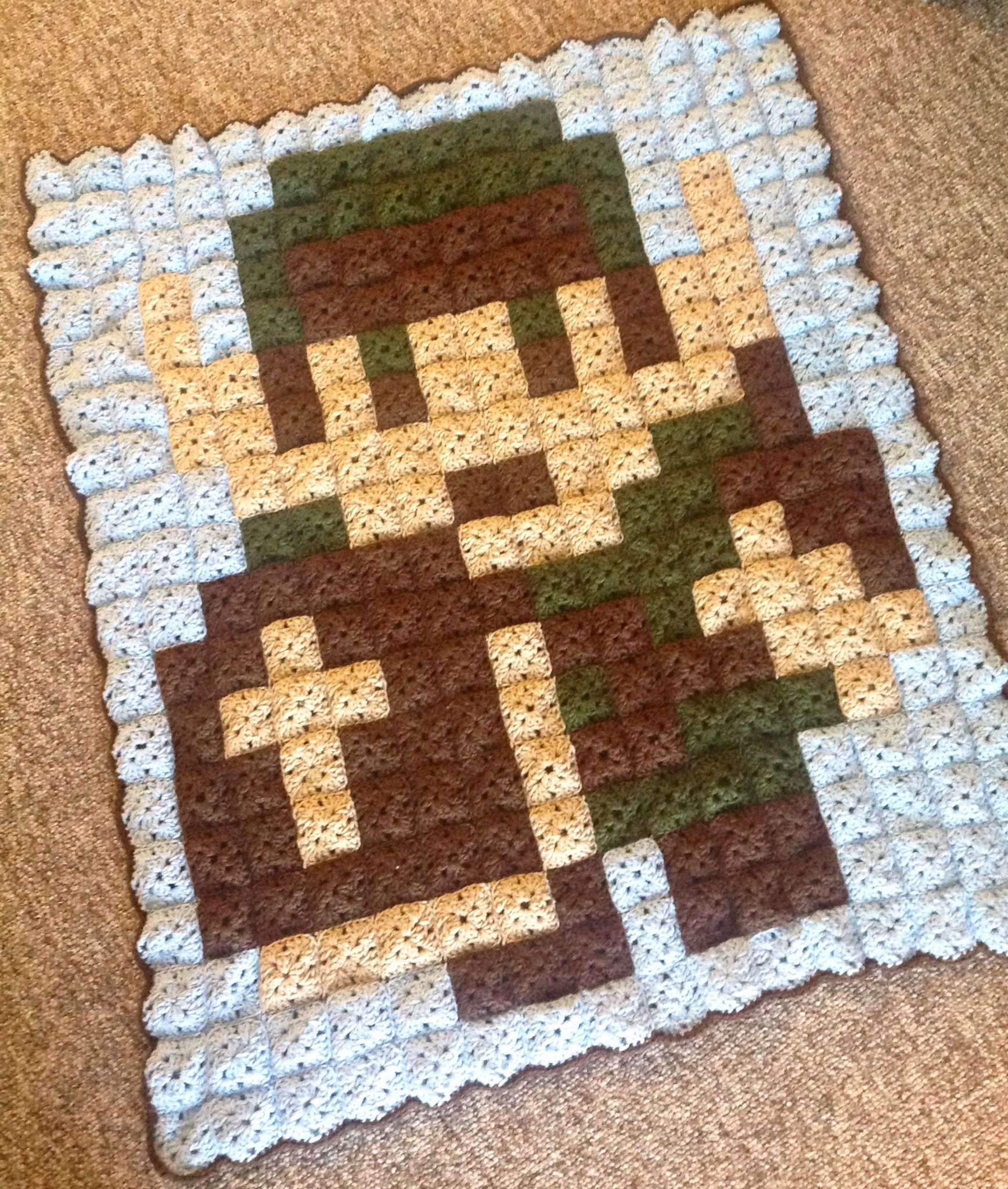 granny pixel Legend of Zelda link blanket | Crocheting.. | Pinterest ...