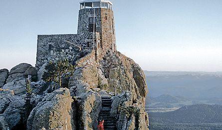Harney Peak in the Black Hills, South Dakota - I hike it every time I visit