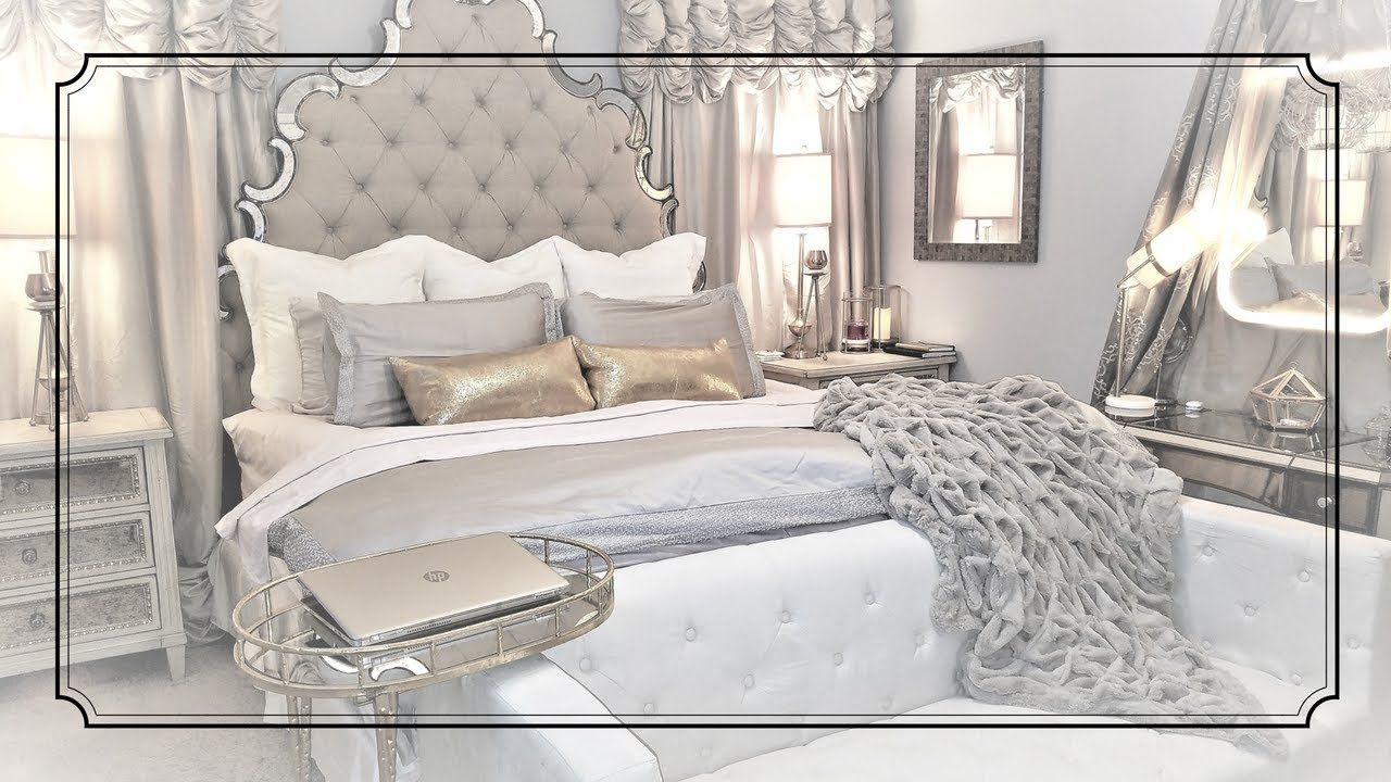 Wayfair Headboard ☆How to make your bed look expensive☆Glam