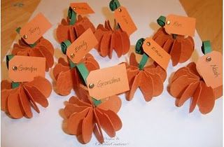 15 Thanksgiving Day Place Cards
