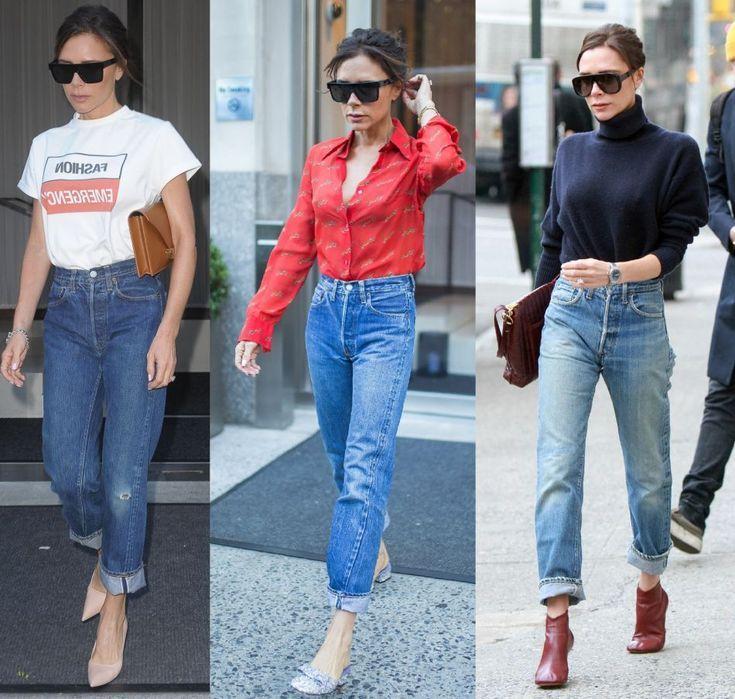 Victoria Beckham : le conseil pour entretenir ses jeans qu'on lui pique (ou pas) -   18 victoria beckham style Chic ideas