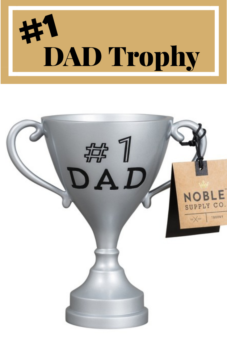Looking For A Last Minute Fathers Day Or Birthday Gift Idea From The Kids You Should Order This 1 DAD Trophy Target Pick Up Gifts Wife While