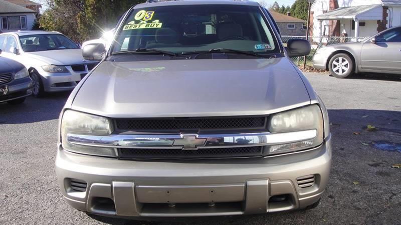 2003 Chevrolet Trailblazer For Sale In Allentown Pa Mayas Auto Center Llc Allentown Auto Center Chevrolet Llc Mayas Sale Trailblazer En 2020