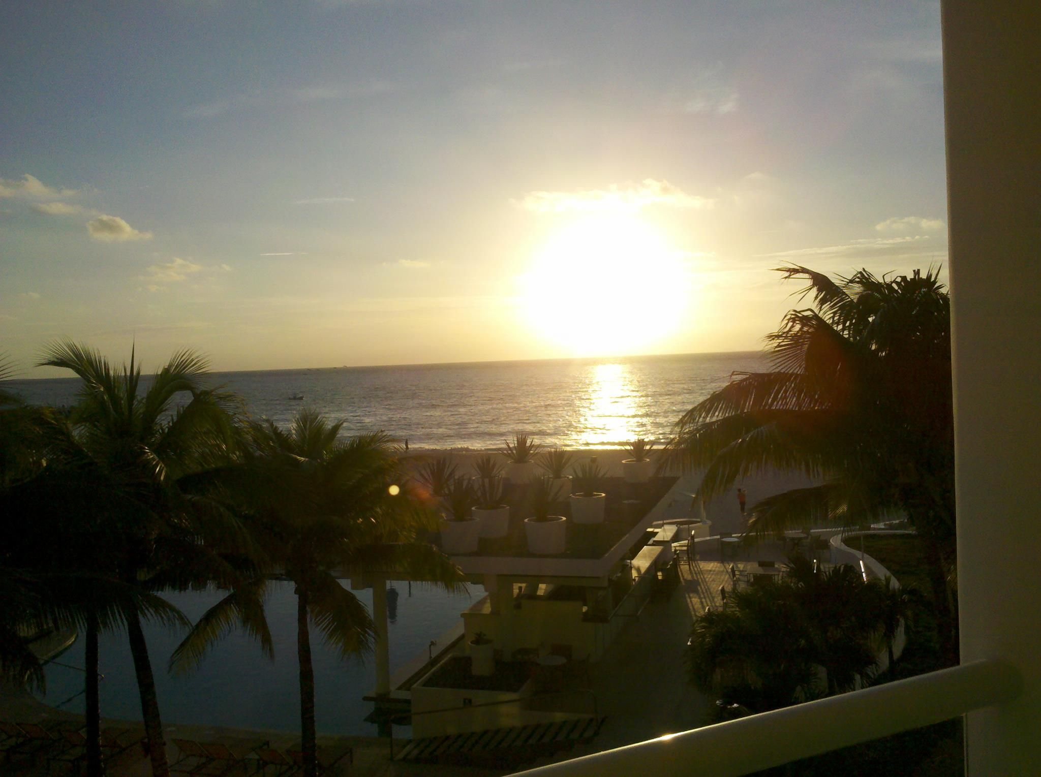 mexico! view from our patio!