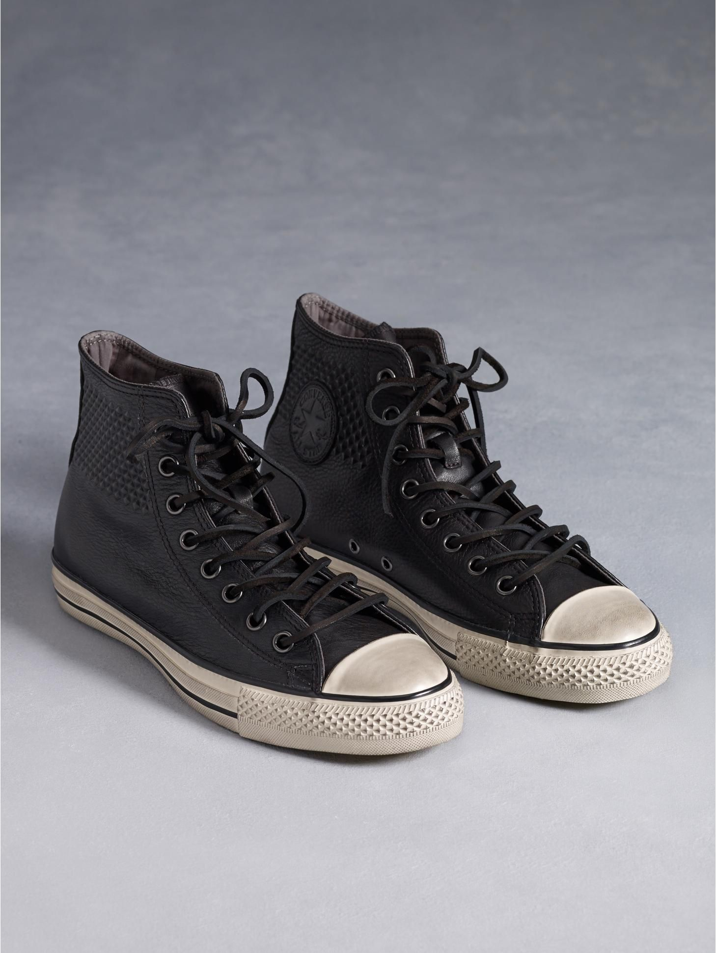 6baa2844da1b Converse by John Varvatos Chuck Taylor All-Star Embossed Leather Chuck  Taylor Hi-Top Shoes