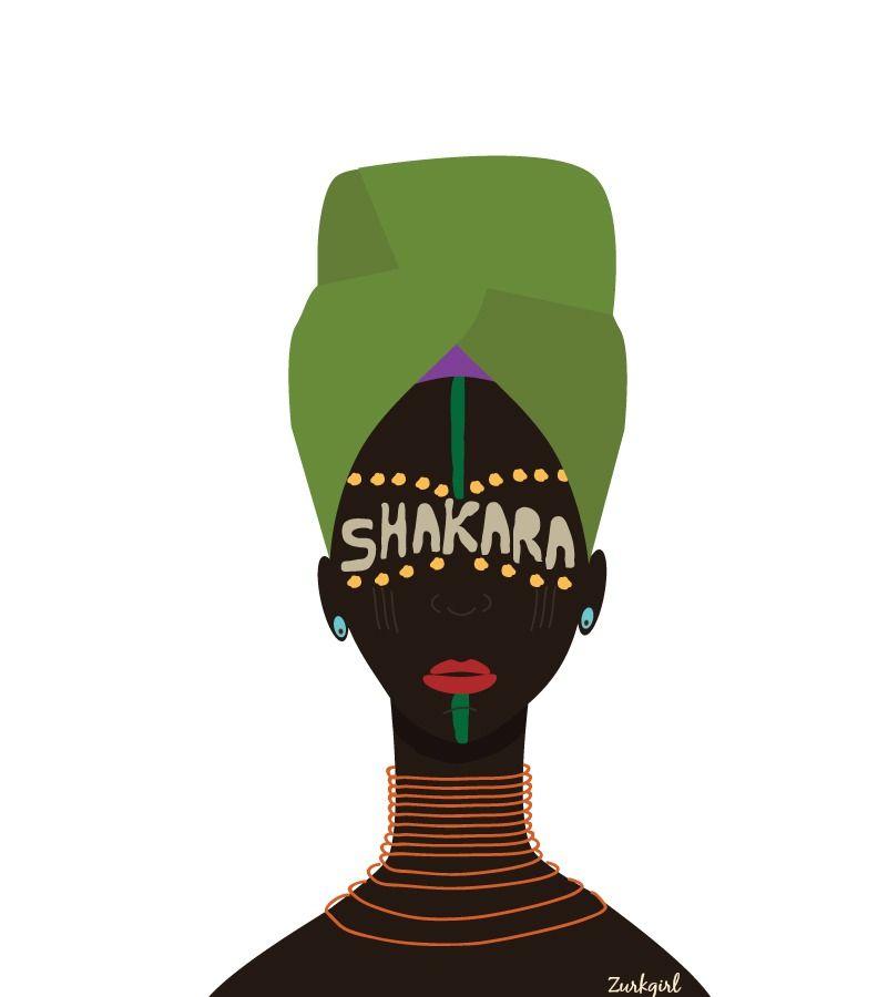 "<p>Zurikgirl ""SHAKARA-LOGO TEE""</p><p>* Inspired by the legend Fela</p><p>* Fruit of the loom/Hanes ..."