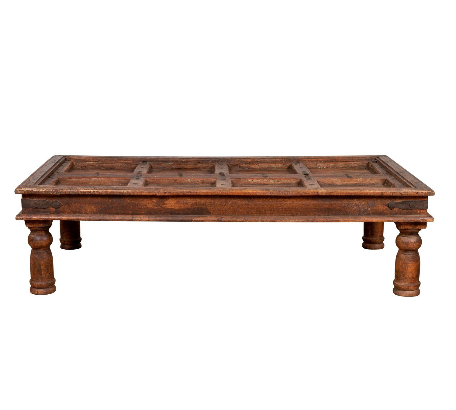 Antique Sheesham Wood Indian Palace Door Made Into Coffee Table With Iron Studs Sheesham Wood Coffee Table Wood Coffee Table [ 1347 x 1500 Pixel ]