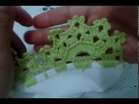 Bico De Croche Carreira Unica 44 Youtube Com Imagens Bico De