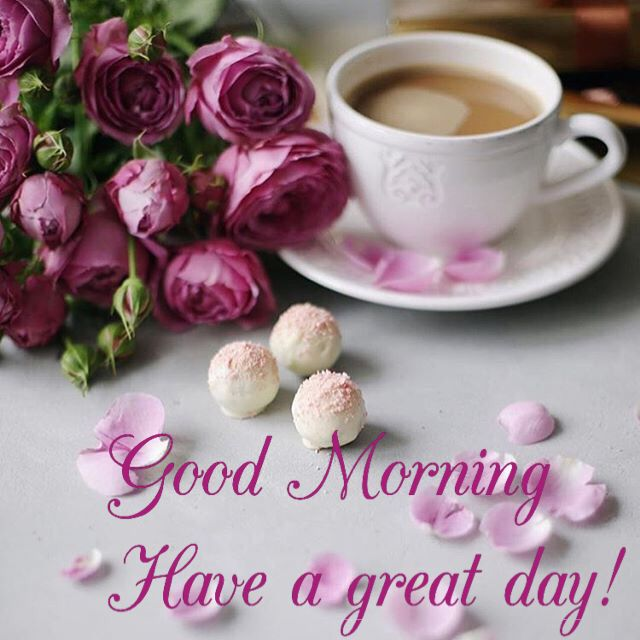 Good Morning Have A Great Day Morning Coffee Morning Coffee