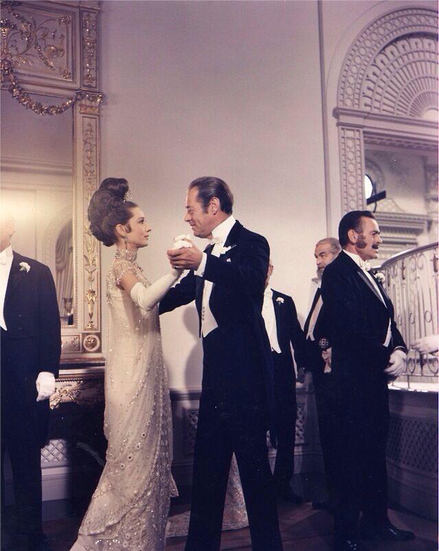Audrey Hepburn and Rex Harrison in My Fair Lady