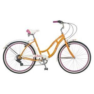 Schwinn Women S Majestic 26 Cruiser Bike Orange Cruiser Bike Schwinn Bike Schwinn Cruiser