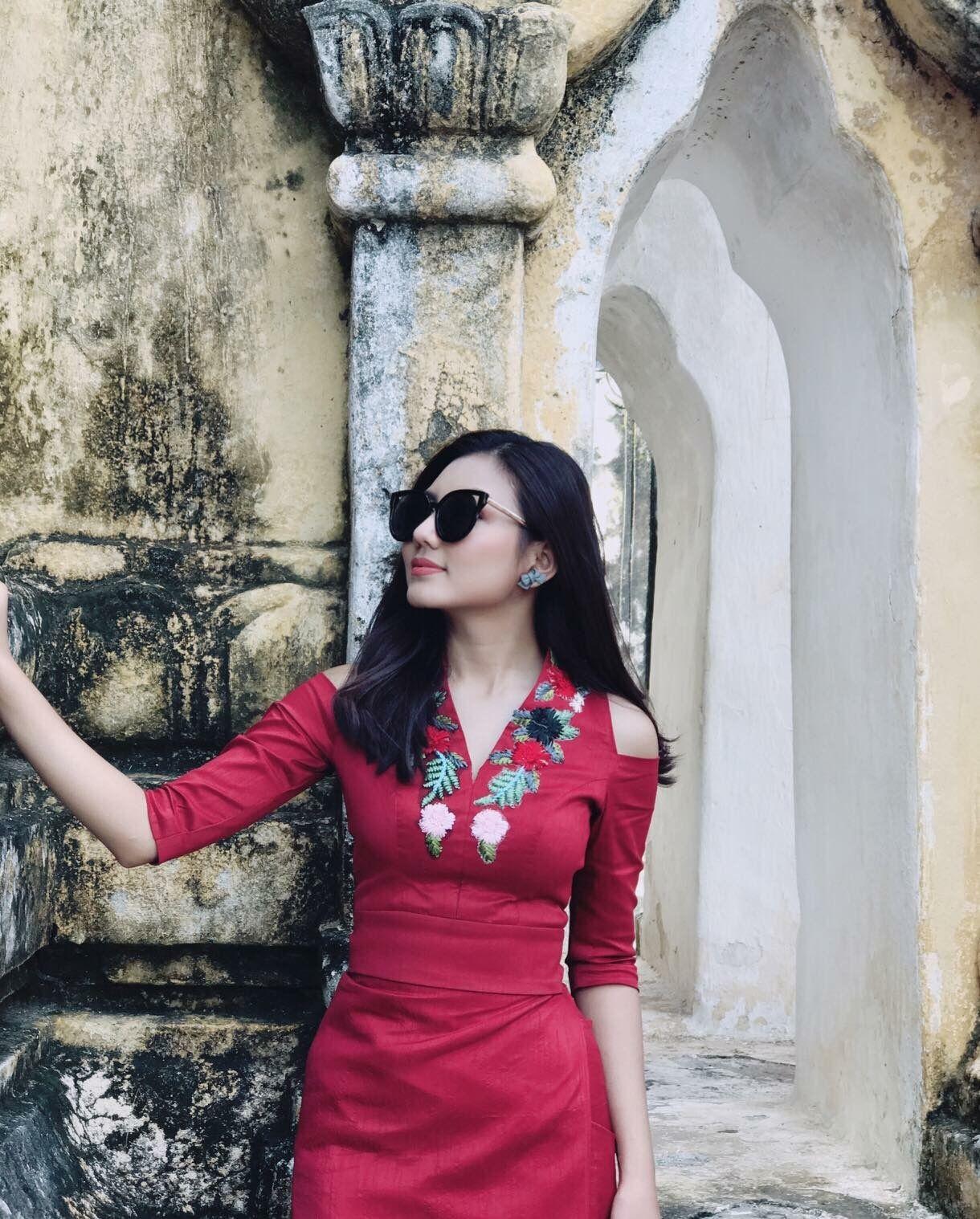 Pin By TinNwe Hlaing On Myanmar Dresses