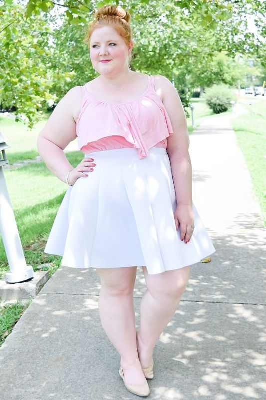 2d4aa59aae3 Today s post features the Rebecca Ruffle Tank from SWAK Designs (sizes  1x-6x) styled for summer and fall!  swakdesigns  myswakstyle   rebeccaruffletank ...