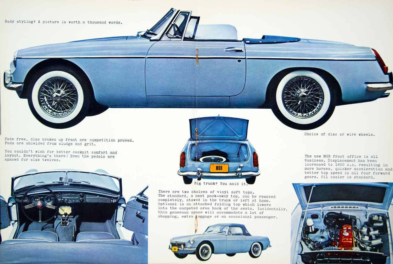 Mgb Ad Vintage Muscle Cars Morris Garages British Motors
