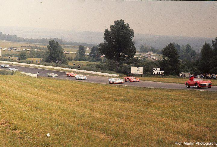 Beginning of the 1970 Six hours at Watkin Glen