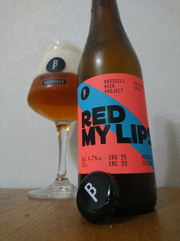 Red My Rips Beer Beer Bottle Red