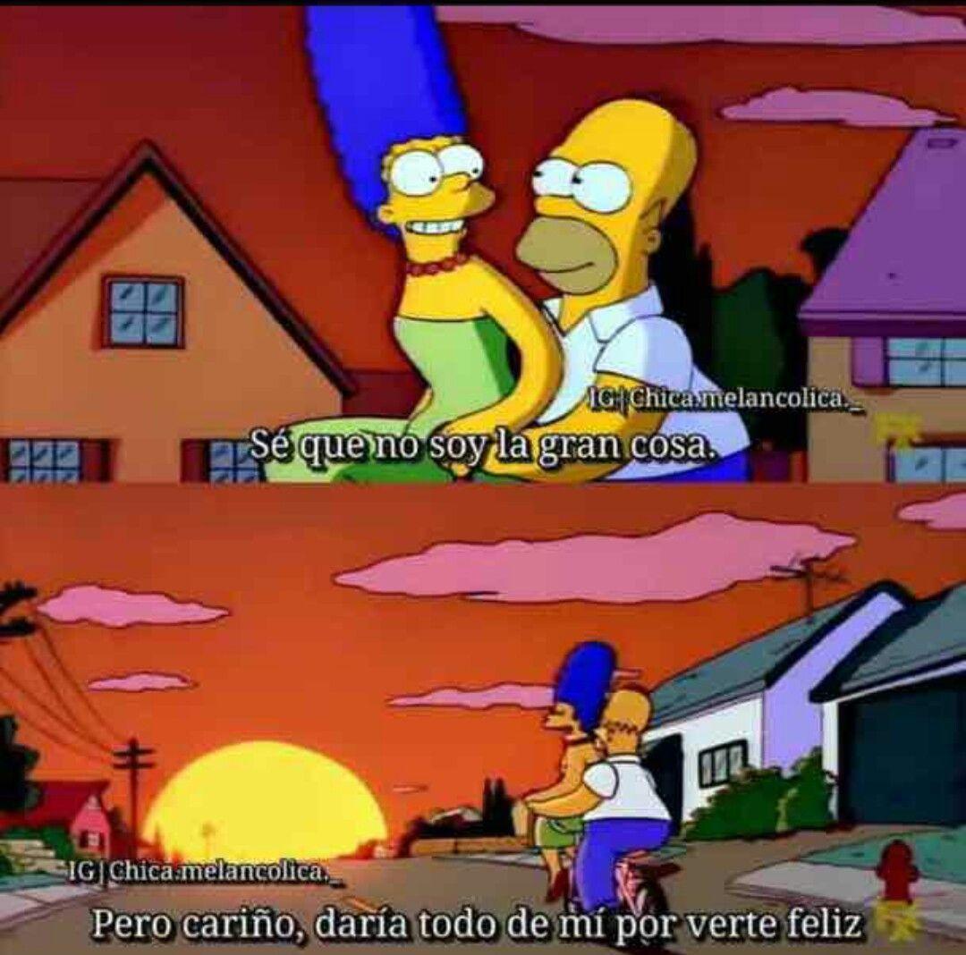 Pin De Esthela En Parejas Frases De Los Simpsons Imagenes De Homero Memes De Los Simpson
