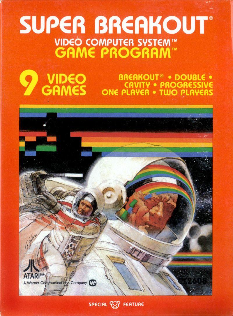 """Super Breakout"" __ Atari"