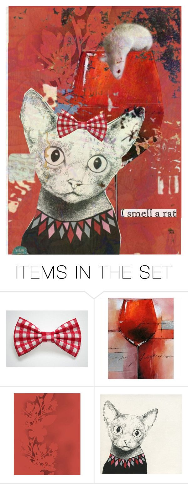 """*I smell a rat*"" by karineg ❤ liked on Polyvore featuring art"