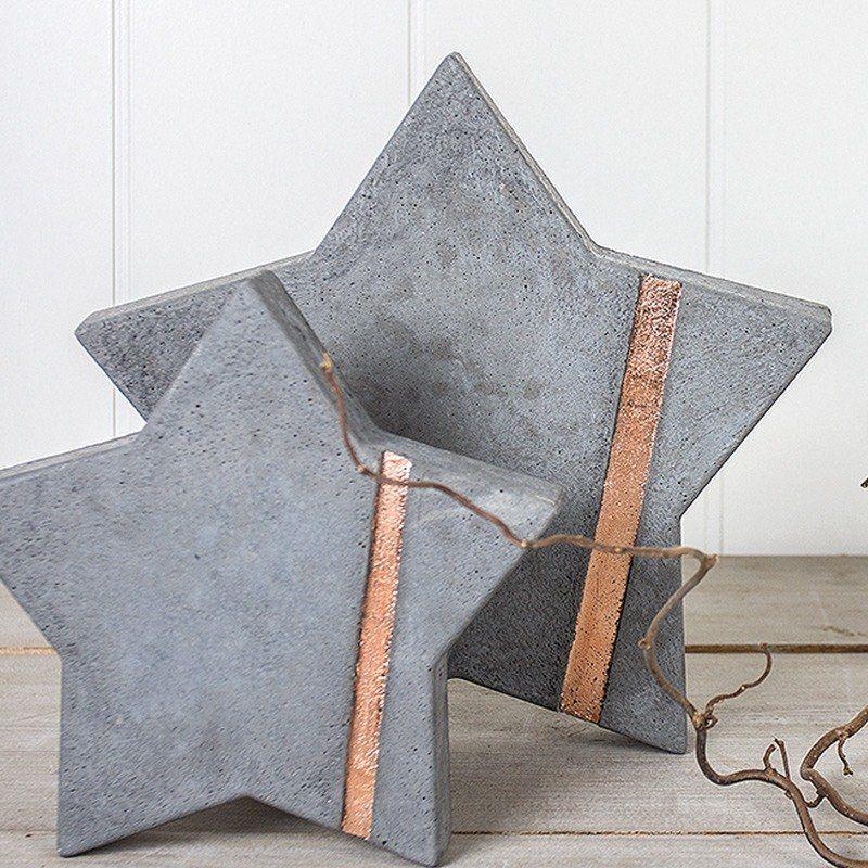 Sterne aus Beton – dasBasteln.de