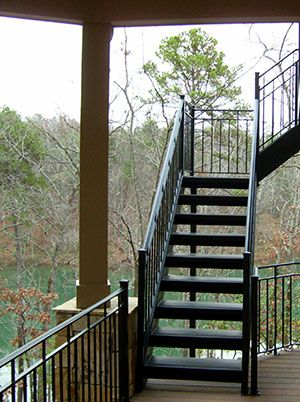 Exterior Stairs Railings Heirloom Stair Iron Exterior