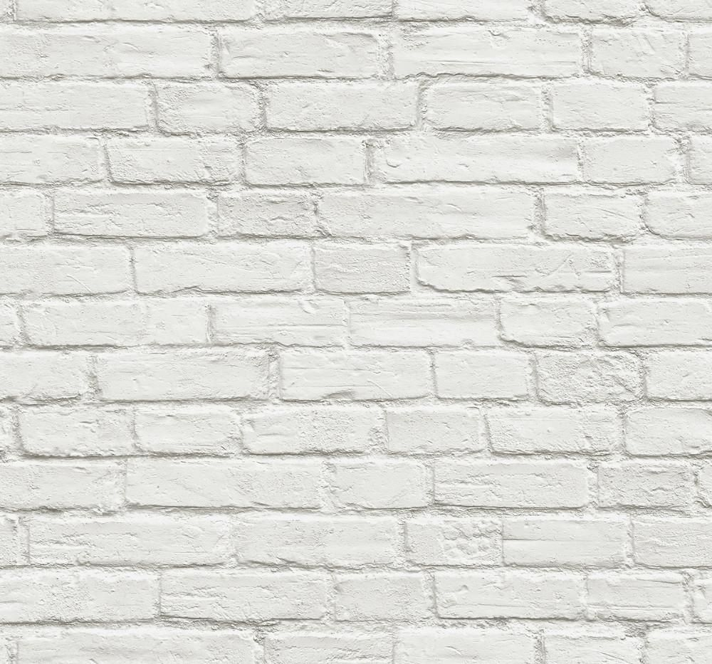 Vintage White Brick Peel And Stick Wallpaper By Nextwall White Brick Wallpaper Removable Brick Wallpaper White Brick