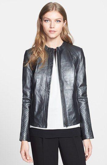 Classiques Entier Leather Moto Jacket Nordstrom Sleek Fashion Leather Moto Jacket Jackets