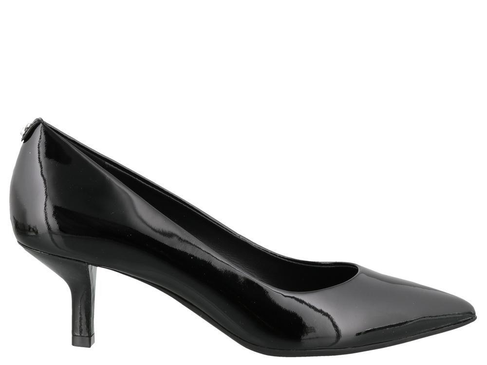 Michael Kors Classic Pointed Toe Kitten Heel Pumps In Black Modesens In 2020 Kitten Heel Pumps Pumps Heels Kitten Heels