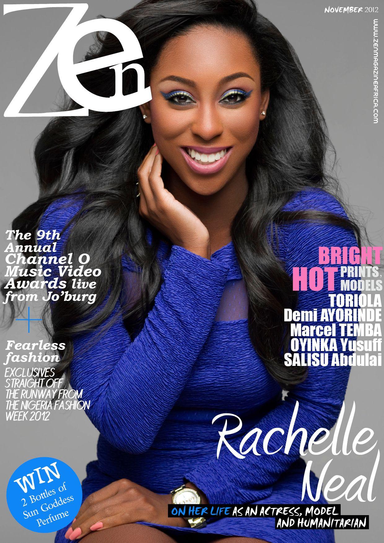 Color zen magazine - Zen Magazine November Cover Is Rachelle Neal