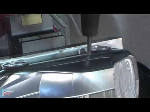 Concept car CAD/CAM- CNC 5 axis machining   WorkNC CAD CAM