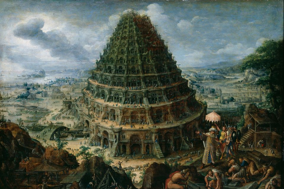It isn't an accident that the Bible's tale of the Tower of Babel presents multilingualism...