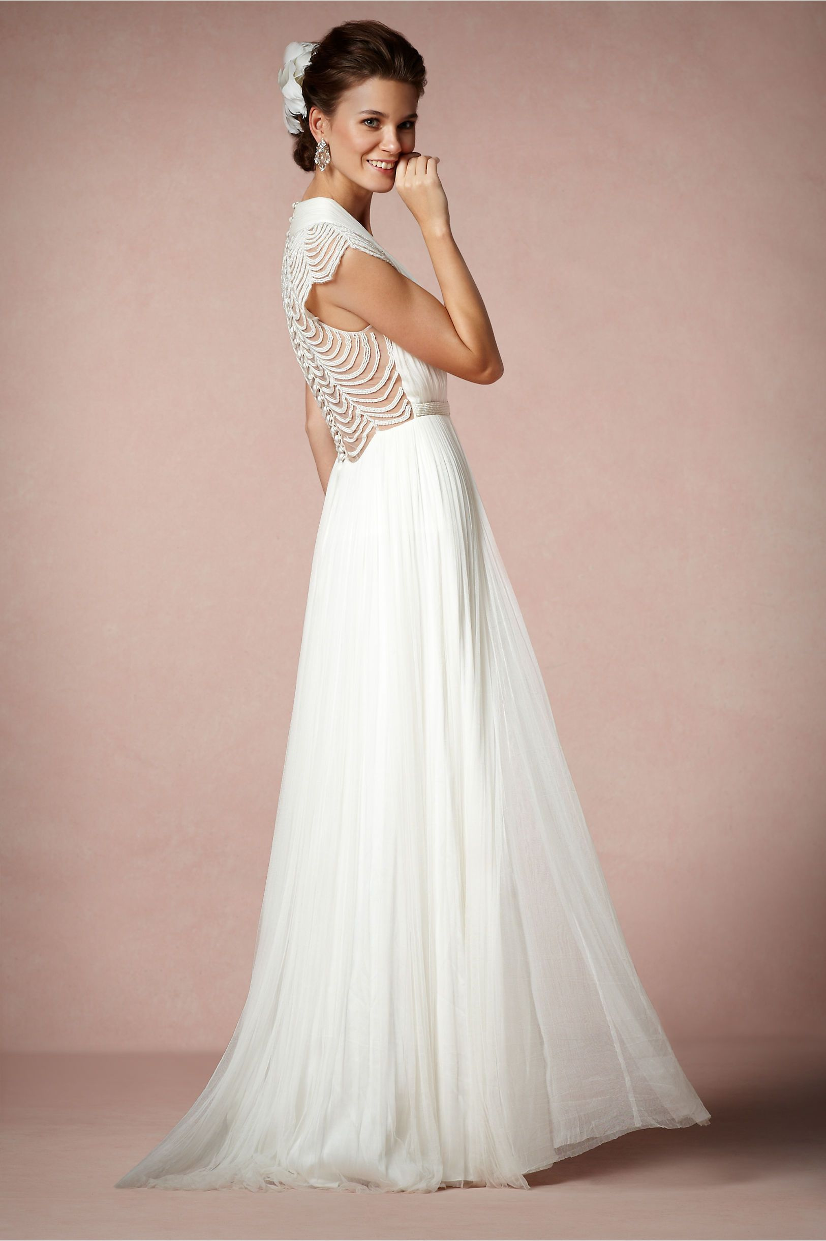 Ortensia Gown in The Bride Wedding Dresses at BHLDN | Modern Wedding ...