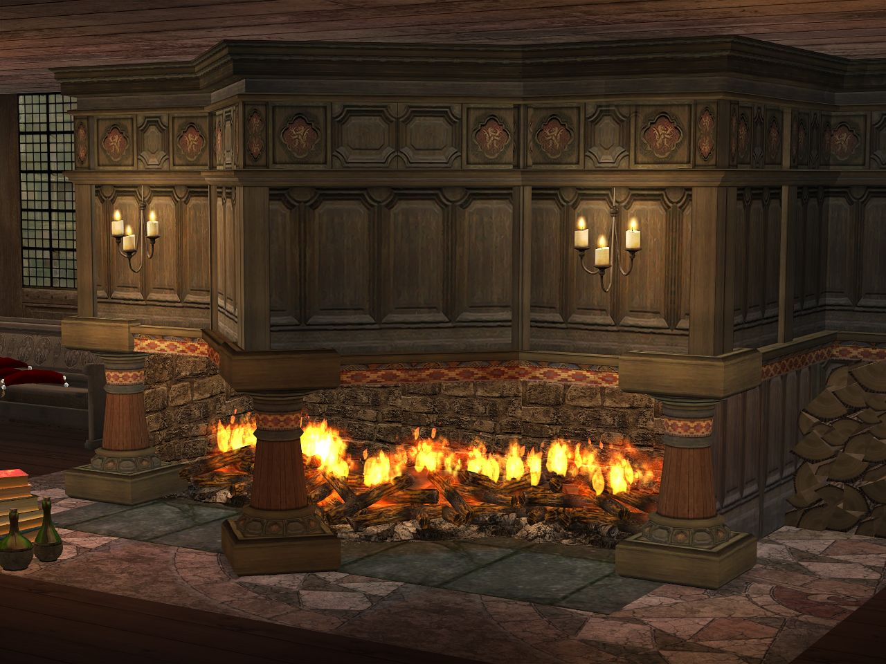 http://julsfels.tumblr.com/post/124578443439/the-penrhyn-fireplace-set-14-built-in-fireplaces