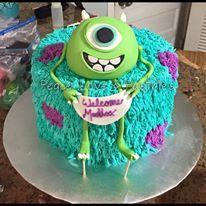 MIIIIIKE WISOWSKI! by Peace, Love & Pastries #cake #nola #monstersinc