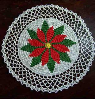 Free Crochet Christmas Doily Patterns | Vintage Christmas Doilies ...