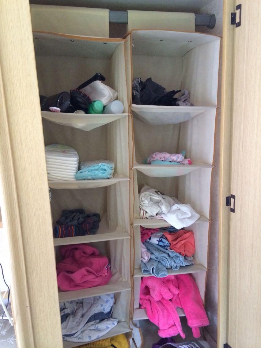 Caravan storage hack!! …   Caravan storage, Diy caravan ...