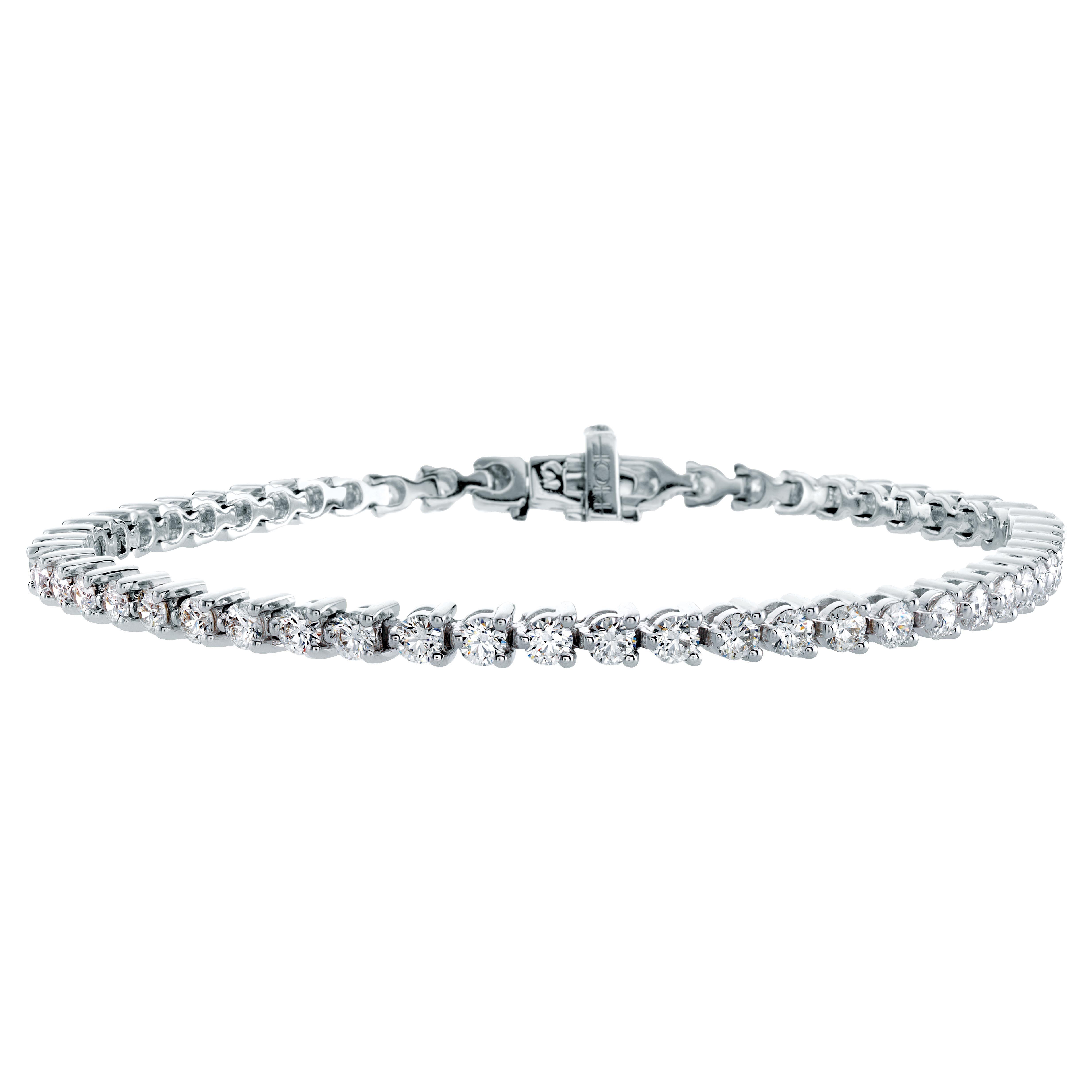 New Hearts On Fire 3 17 Ctw Diamond Select Temptation Tennis Bracelet