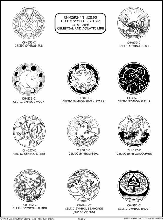 Celtic Symbols And Meanings Scottish Clipart Library