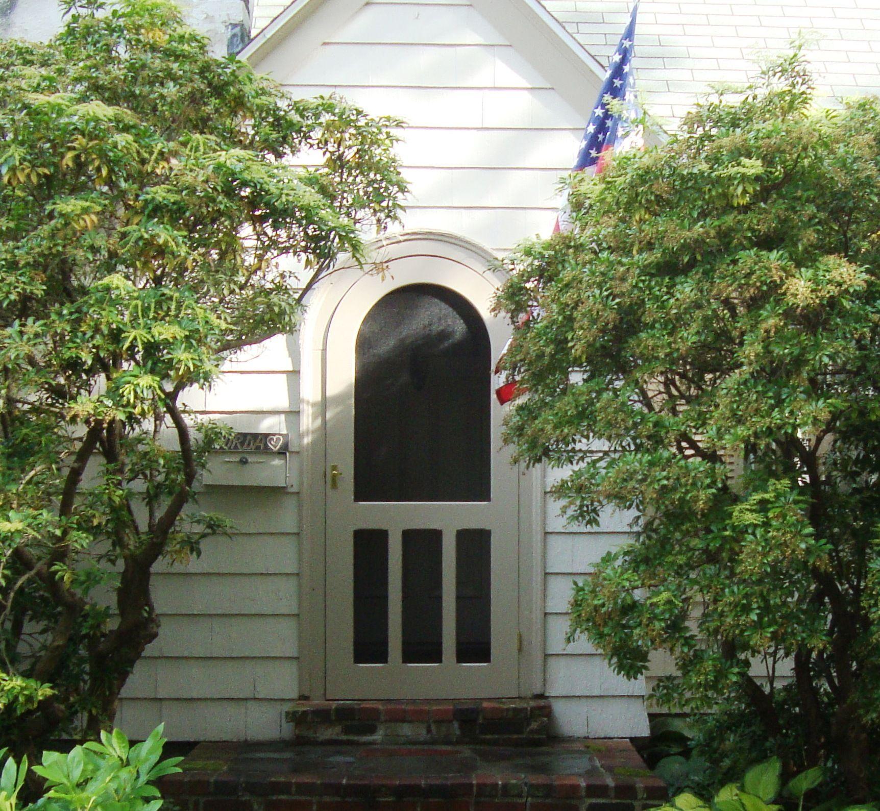 Victorian Screen Storm Door Round Top Hallmark Model Www