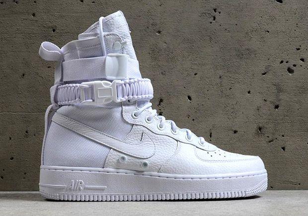 Nike SF-AF1 Triple White Foot Locker