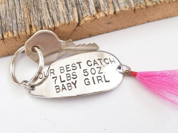 Perfect Unique Keychain For New Parents Also Make A Great Birth