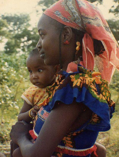 Fulani Mother and Child