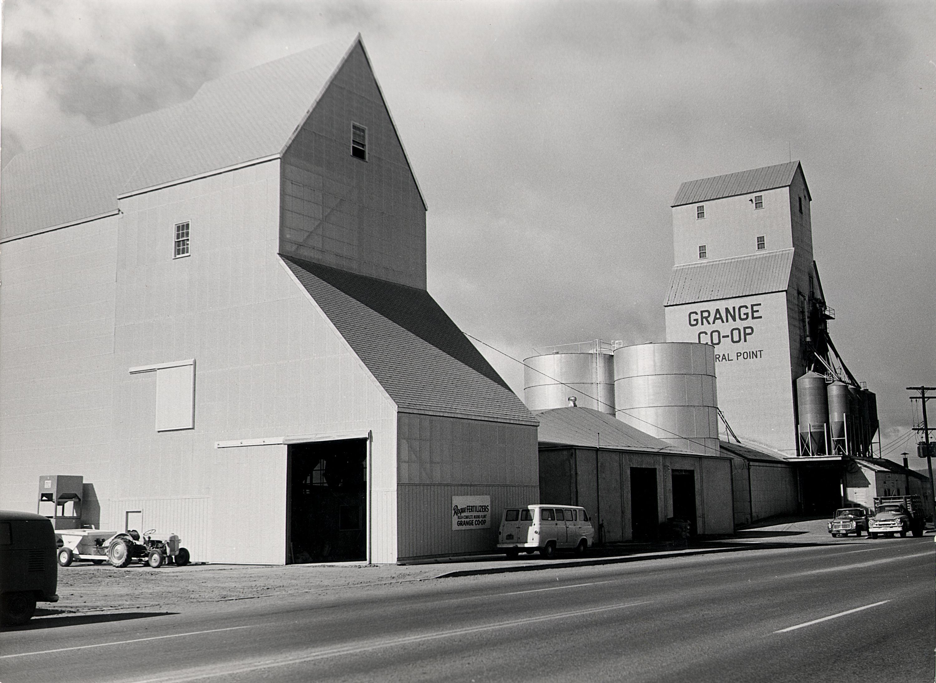 Grange Co Op Fertilizer Plant In Central Point History History